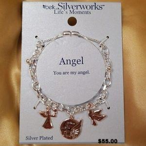 BELK! NEW!! SilverWorks Life's Moments bracelet